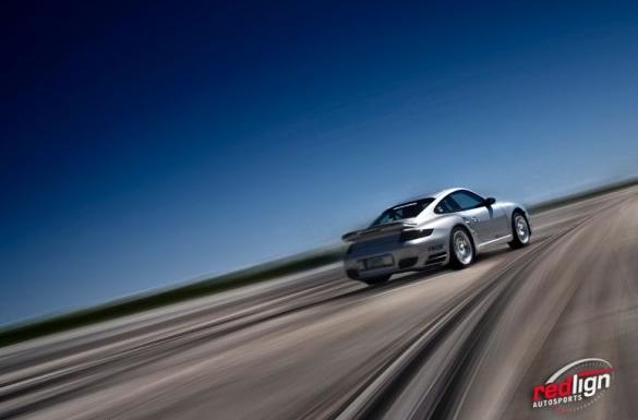 Porsche Turbo at the NASA Texas Mile event