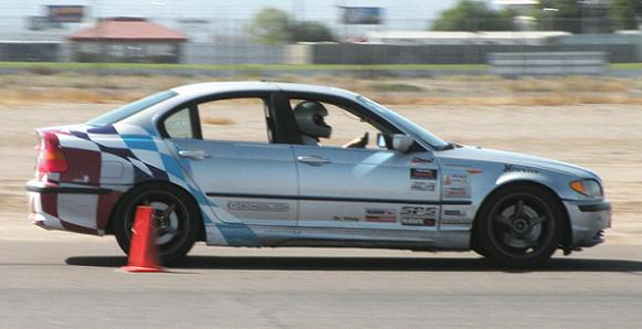 Two autocross national champions shared this BMW 330 and took 1st and 2nd in NXB