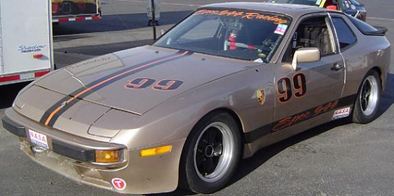 Norm Hamden's 944 Spec racer