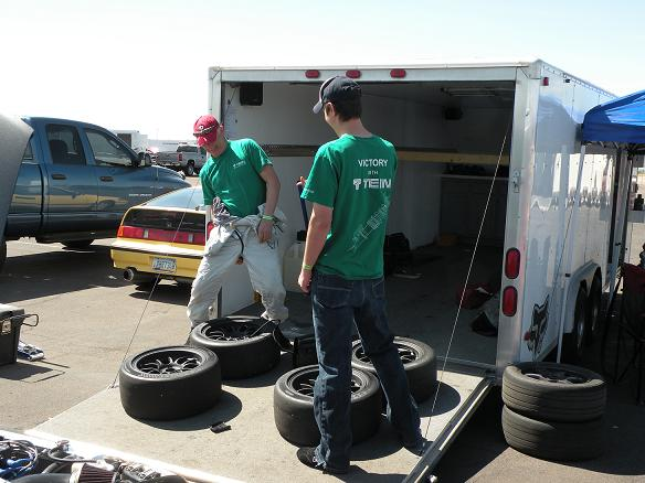 Team Tein Arizona getting ready for the UMS Time Attack