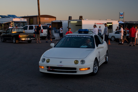 Pace Car and TTC Integra driven by Eric Dayton.