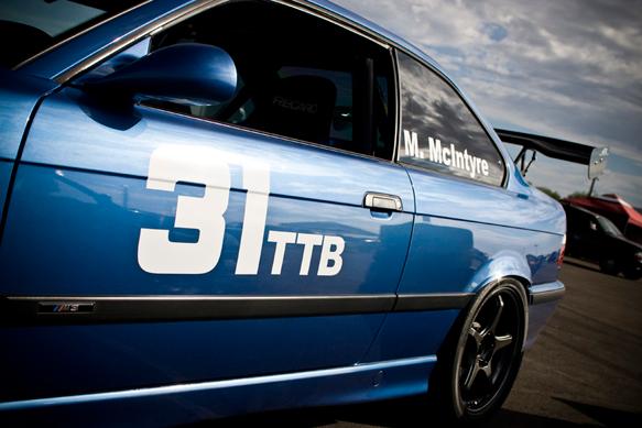 Matt McIntyre, TTB #31 BMW M3.