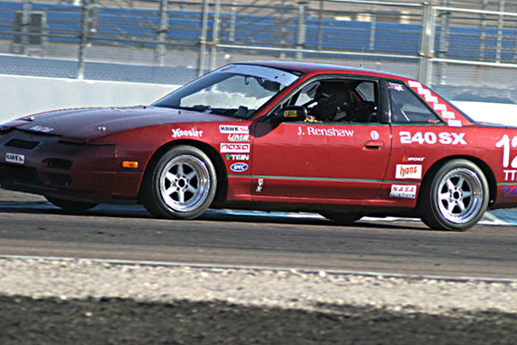 Jeremy's 240SX at PIR