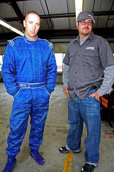 Two Jeremys: Renshaw and Ward, part of the NASA-AZ Crew