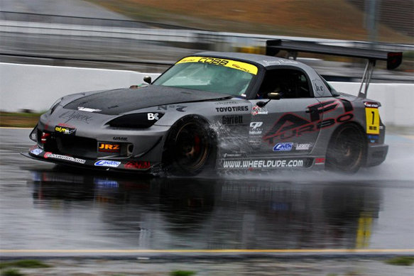 Jeremy driving the AFI Turbo S2000