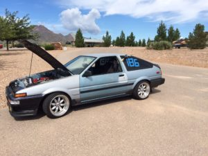 AE86 race car to be