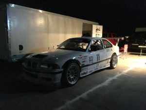 Here is one Hot Time Trial car driven by the team of Jeremy and Angie Renshaw.